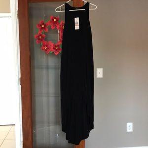 NWT high lo black Kenneth Cole reaction dress